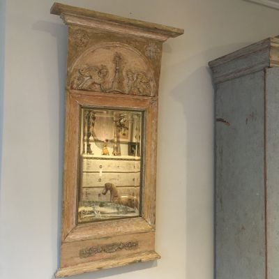Swedish Gustavian Mirror 1